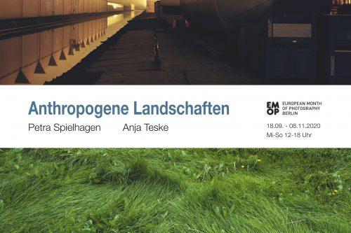 Plakat_Antropogene Landschaften_Ausstellung Galerie Historischer Keller 2020